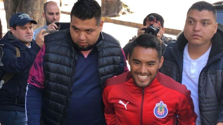 Gallito Vázquez tras realizar las pruebas médicas