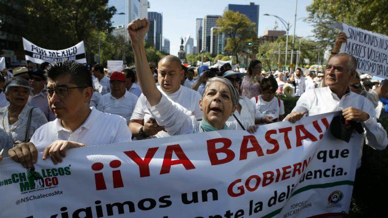 Marcha en Ciudad de México