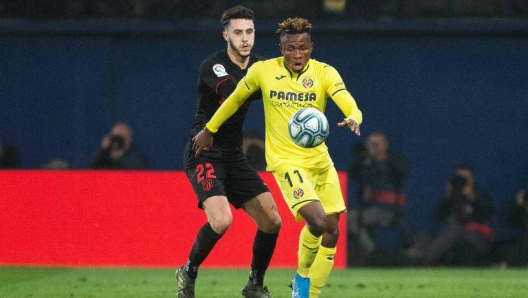 Atlético de Madrid vs Villareal en partido