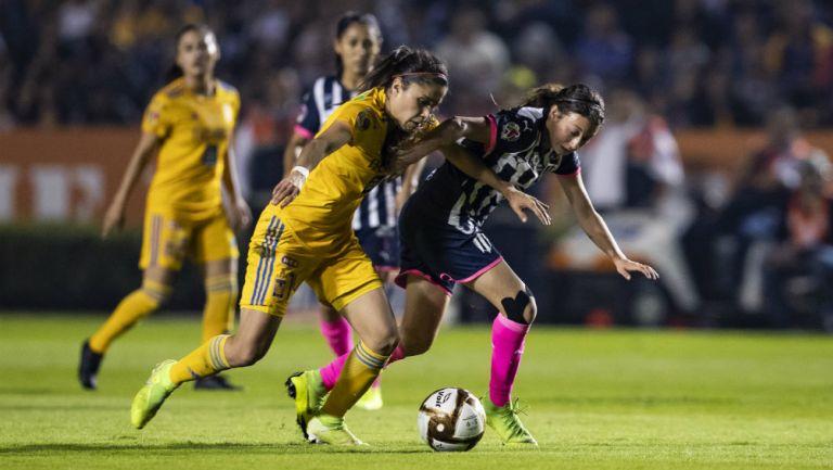 Tigres Femenil vs Rayadas en Final de Ida
