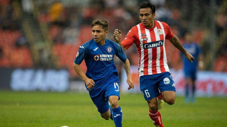 Misael Domínguez y Noe Maya en el Estadio Azteca
