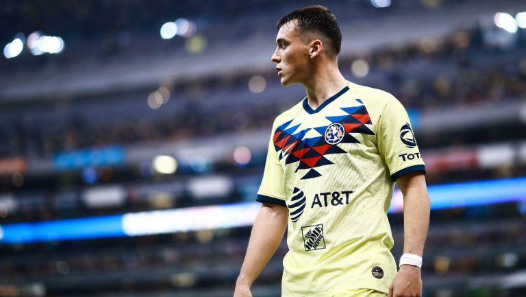 Federico Viñas salió de la cancha ovacionado por la afición azulcrema