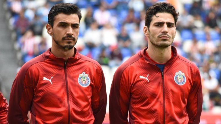 Alanís y Briseño previo a un duelo con las Chivas