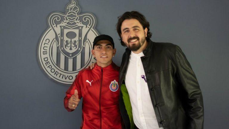Víctor Guzmán y Amaury Vergara