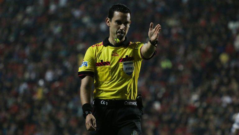 Ramos Palazuelos, durante unjuego de la Liga MX