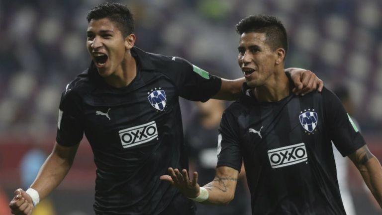 Maximiliano Meza festeja gol contra Al Hilal