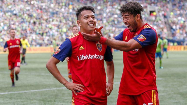 Saucedo tuvo buenos pasajes con Real Salt Lake de la MLS