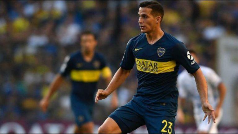 Iván Marcone jugando con Boca Juniors