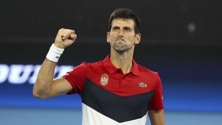 Novak Djokovic, durante un partido