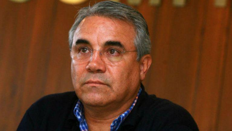 Carlos Girón, durante una entrevista