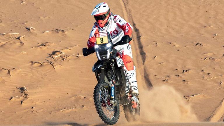 Paulo Goncalves, en el Rally Dakar 2020