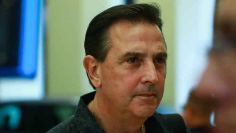 Miguel Ángel Garza en presentación con Tigres