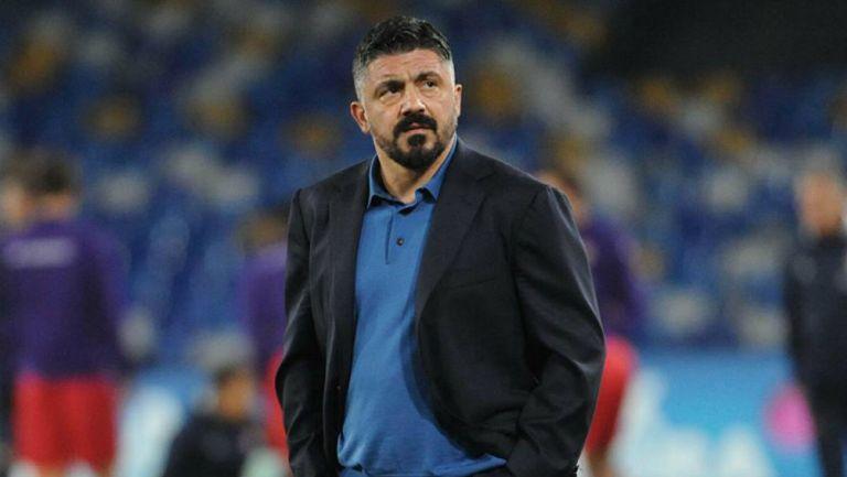 Gatusso sale decepcionado del juego ante la Fiore