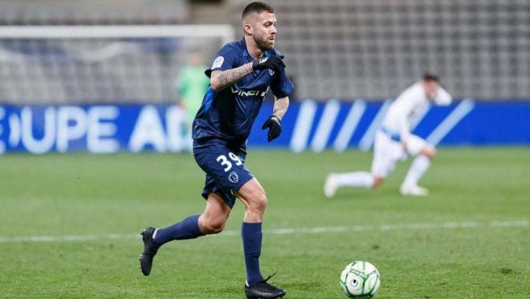 Jérémy Ménez, en un juego del París FC