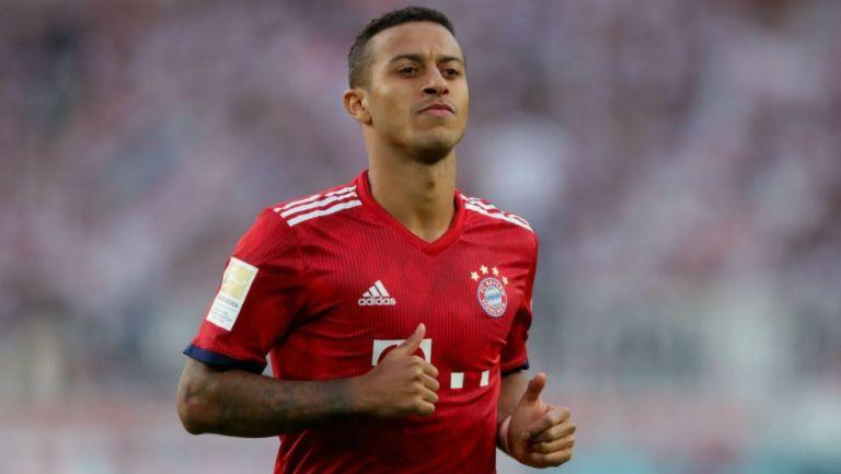 Alcántara en un juego del Bayern