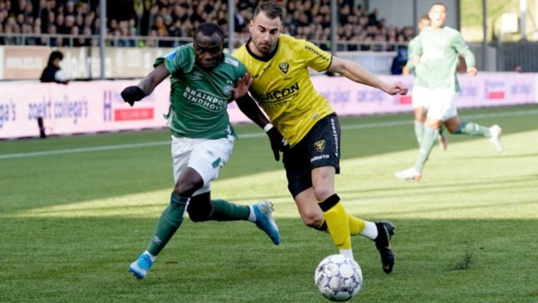 Partido cerrado entre PSV y Venlo
