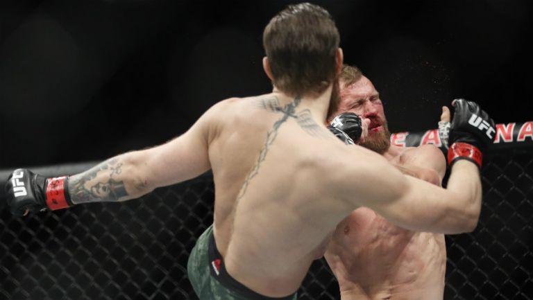 Conor McGregor noqueó en su regreso a UFC