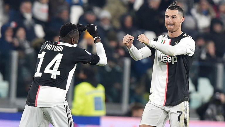 Cristiano Ronaldo celebrando gol