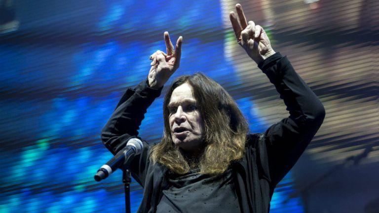 Ozzy Osbourne durante un concierto