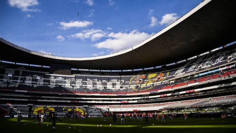Gradas del Estadio Azteca
