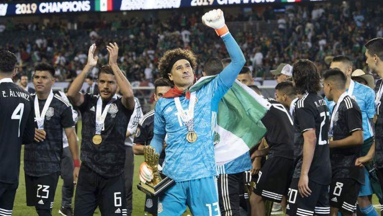 Ochoa, en festejo en Copa Oro