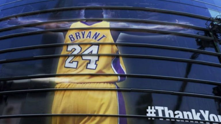 Kobe Bryant es recordado como leyenda