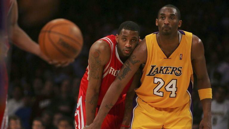 McGrady marca a Kobe en un juego de la NBA