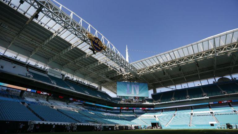 El Hard Rock Stadium listo para el Super Bowl LIV