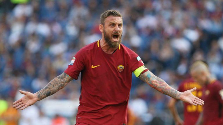La increíble transformación de De Rossi para ver Roma-Lazio