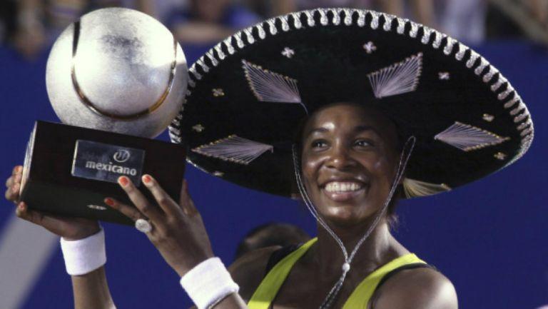 Venus Williams estará en el Abierto de Monterrey