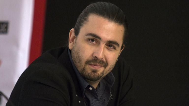 Amaury Vergara en presentación