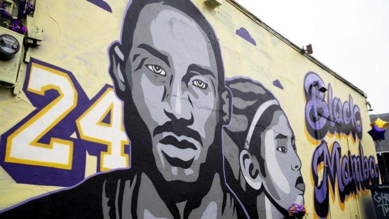 Mural en honor a Kobe Bryant