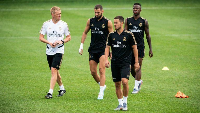 Eden Hazard reaparecería con Real Madrid en juego ante Celta de Vigo