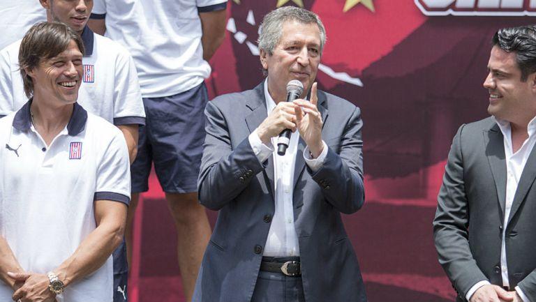 Chivas: Jorge Vergara fue objeto de un homenaje en el Congreso de Jalisco