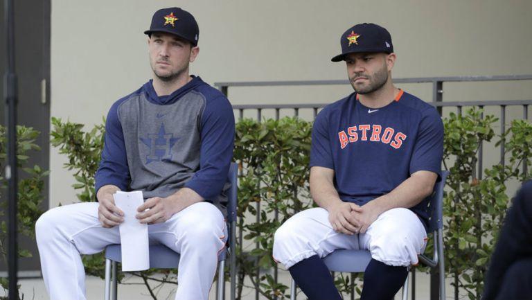 MLB - Bregman y Altuve piden disculpas por acciones de Astros