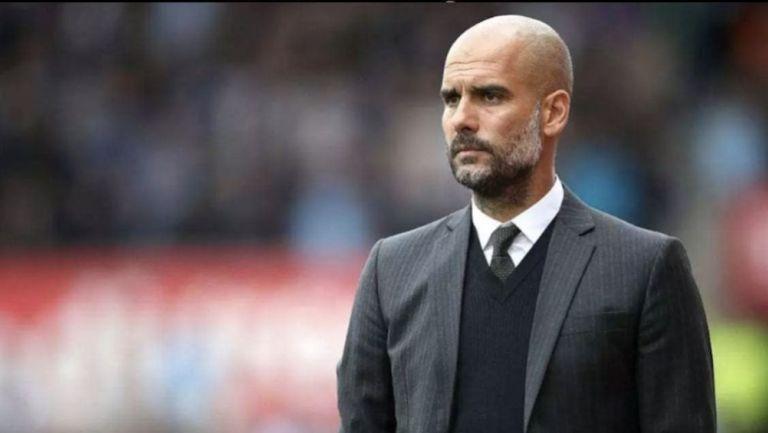 Pep Guardiola, en un juego del Manchester City