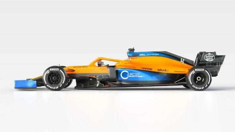 El nuevo auto de McLaren