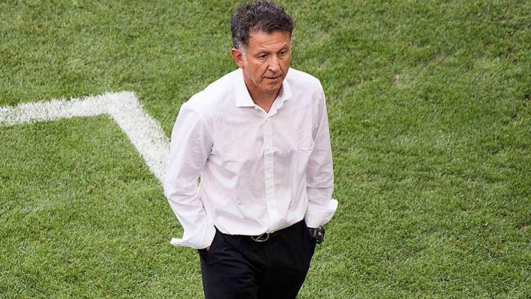 Juan Carlos Osorio en su etapa como DT del Tri