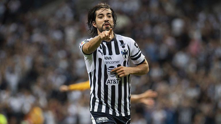 Rodolfo Pizarro se despidió de Rayados