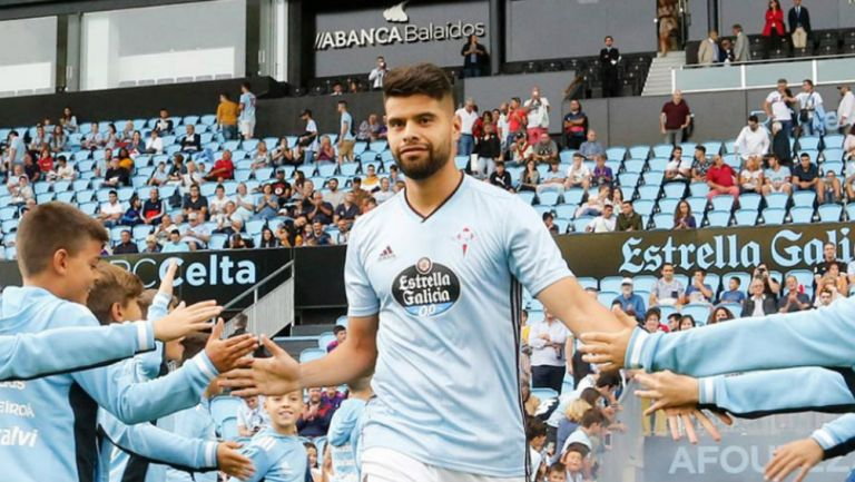 Néstor Araujo previo a un partido con Celta de Vigo