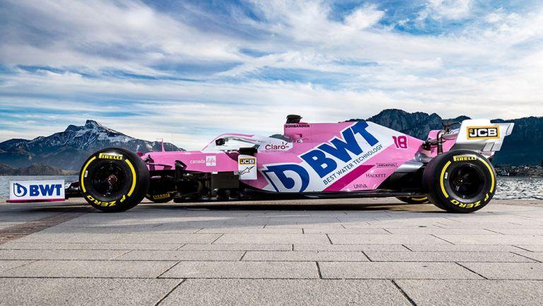 Así será el auto de Racing Point para este año
