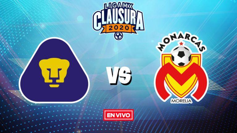 EN VIVO Y EN DIRECTO: Pumas vs Morelia