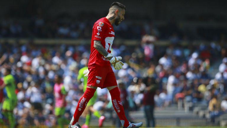 Pumas: Alfredo Saldívar reconoció su error en primer gol de Morelia
