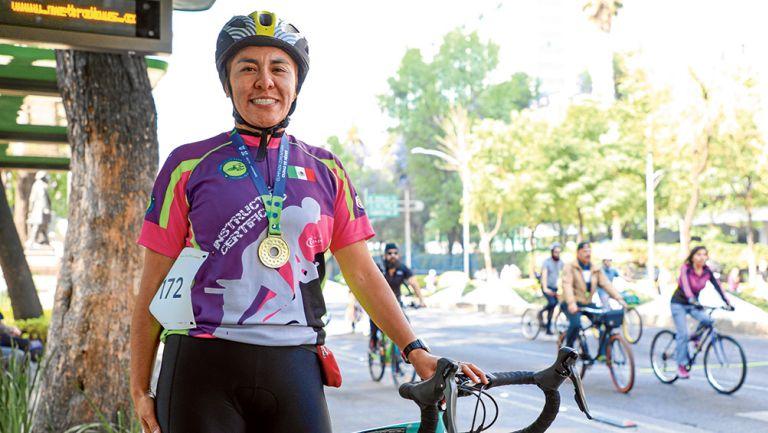 Aída Guerra  obtuvo su segunda medalla de oro en Olimpiada Comunitaria