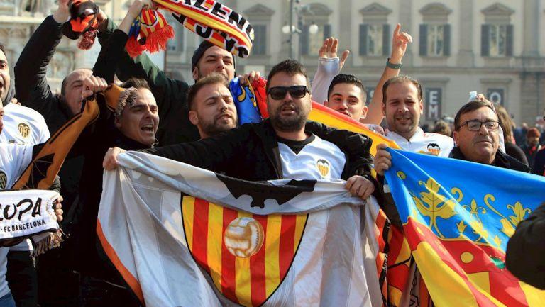 Aficionados del Valencia en Italia