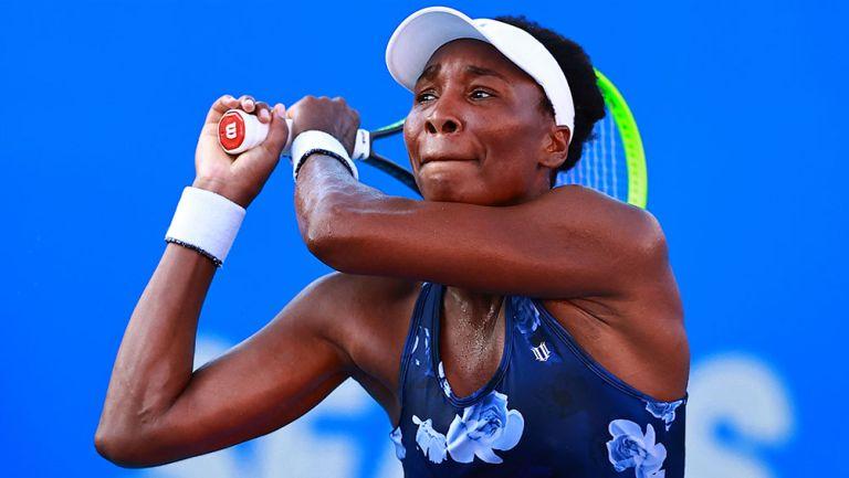 Venus Williams, eliminada en su regreso al Abierto de Acapulco