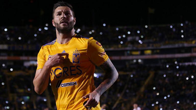 Gignac se convierte en el máximo anotador del futbol regio