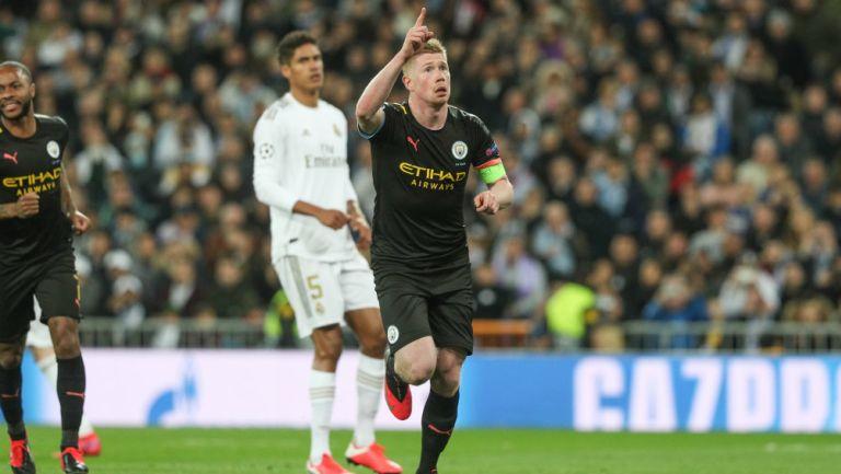 Manchester City remontó al Real Madrid y se acerca a Cuartos de Champions League