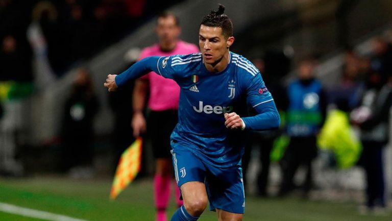Juventus cayó ante Lyon en la ida de octavos de Champions