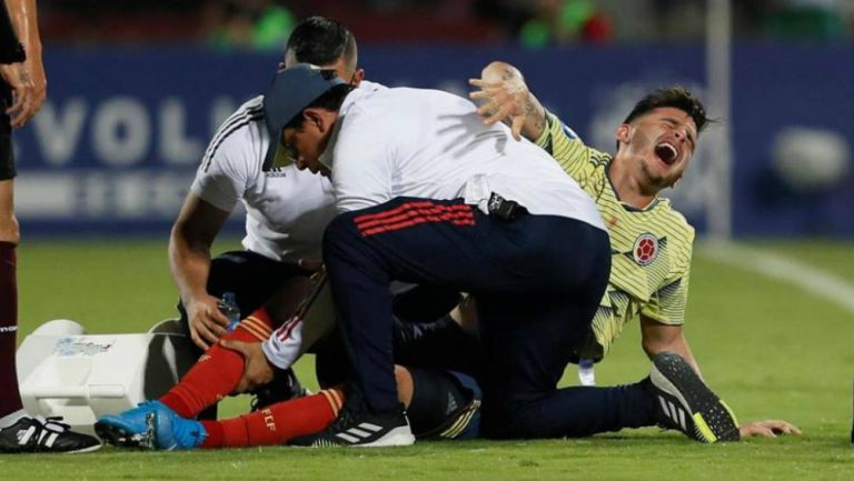 América: Nico Benedetti fue aconsejado por 'Juanfer' Quintero por su lesión